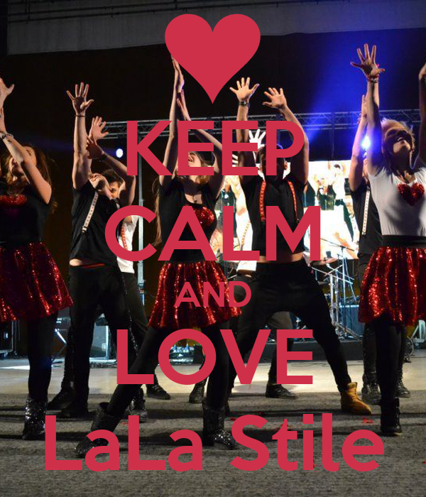 KEEP CALM AND LOVE LaLa Stile