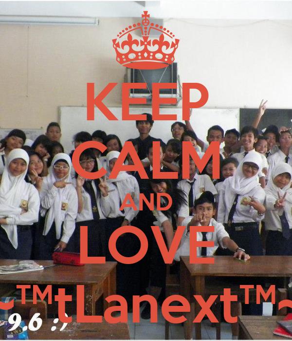 KEEP CALM AND LOVE ~™†Lanex†™~