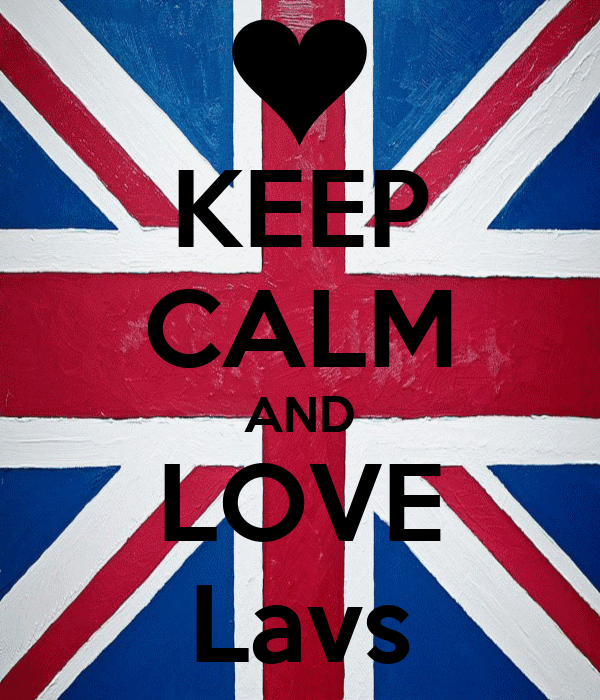 KEEP CALM AND LOVE Lavs