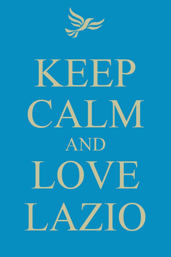 KEEP CALM AND LOVE LAZIO