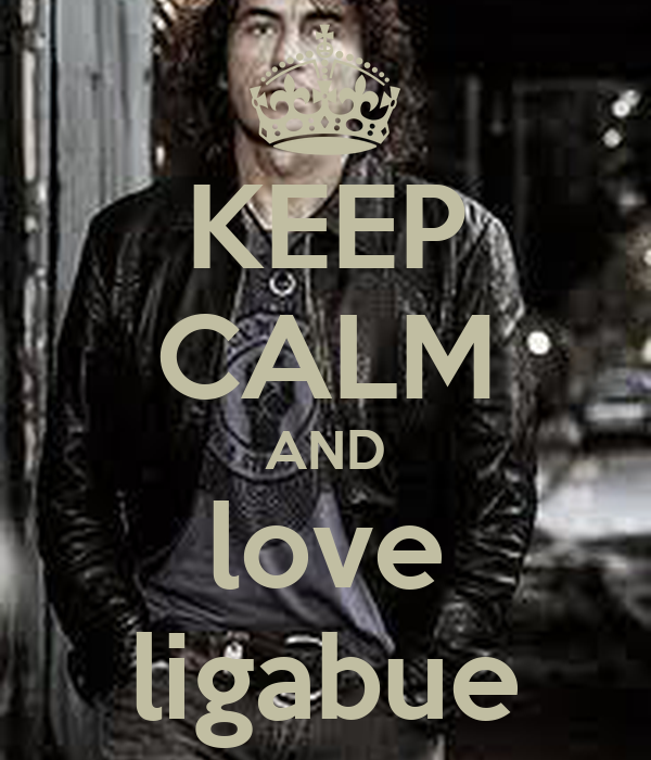 KEEP CALM AND love ligabue