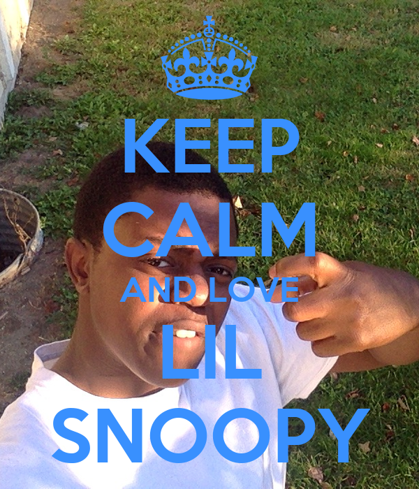 KEEP CALM AND LOVE LIL SNOOPY