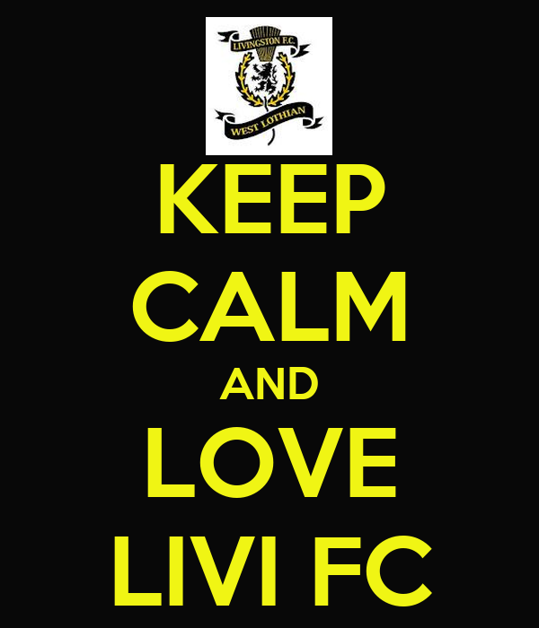 KEEP CALM AND LOVE LIVI FC