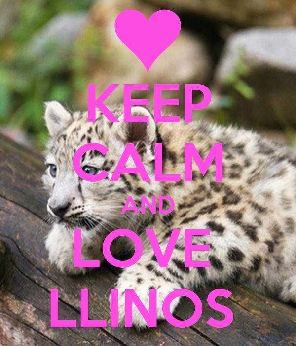 KEEP CALM AND LOVE  LLINOS