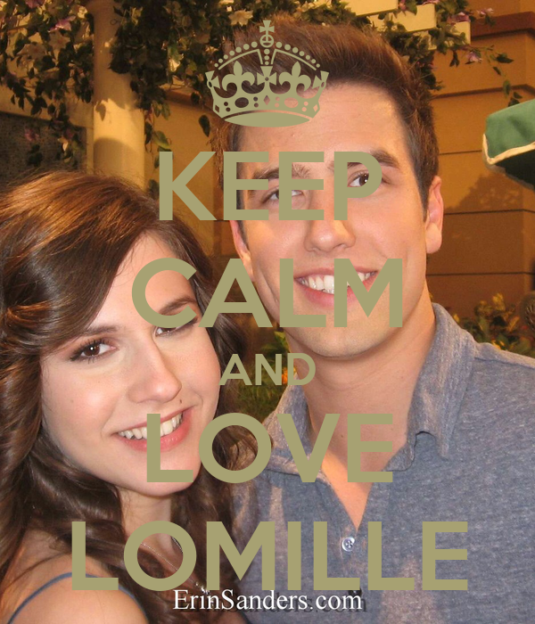 KEEP CALM AND LOVE LOMILLE
