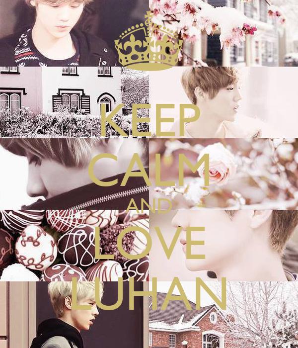 KEEP CALM AND LOVE LUHAN