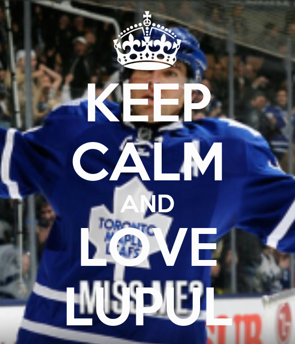 KEEP CALM AND LOVE LUPUL