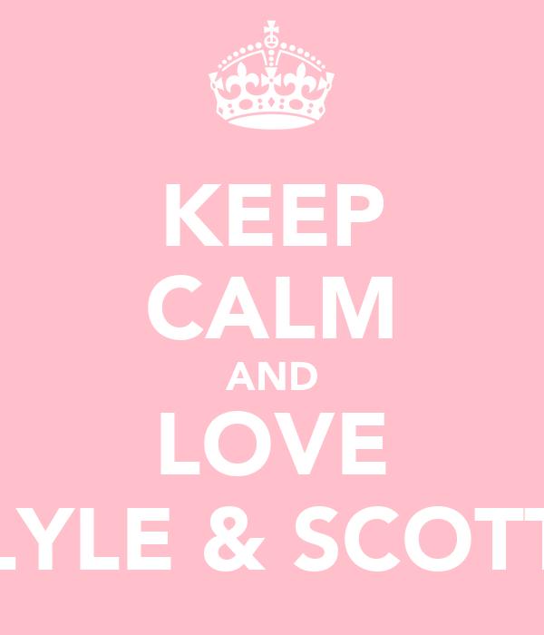 KEEP CALM AND LOVE LYLE & SCOTT
