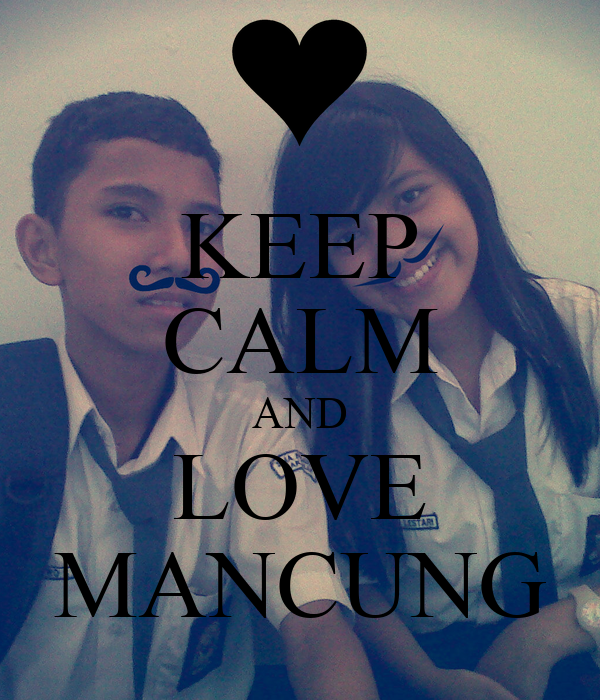 KEEP CALM AND LOVE MANCUNG
