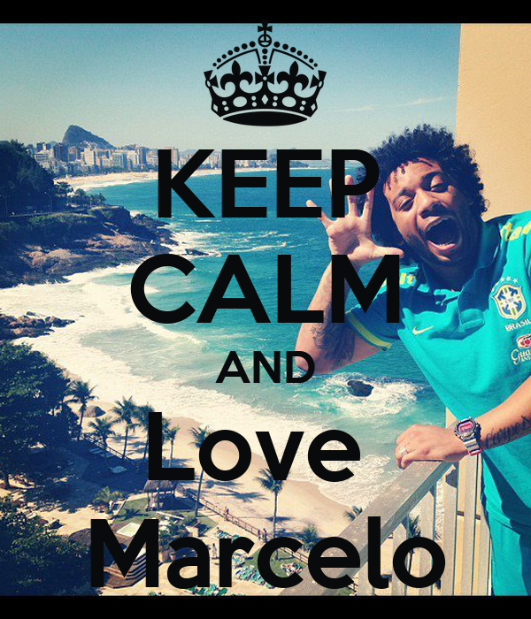 KEEP CALM AND Love  Marcelo