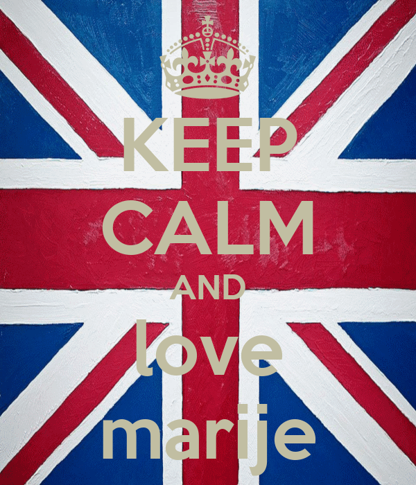 KEEP CALM AND love marije