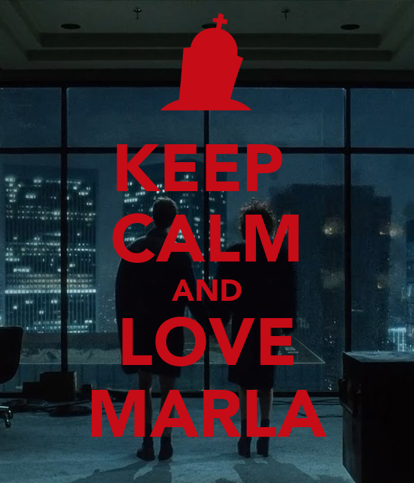 KEEP  CALM AND LOVE MARLA
