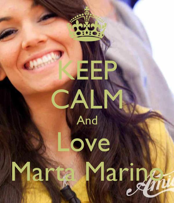 KEEP CALM And Love  Marta Marino