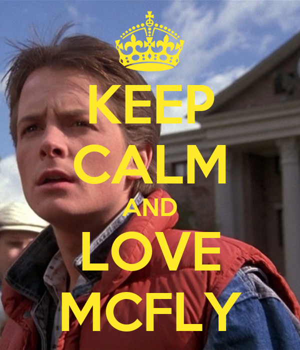 KEEP CALM AND LOVE MCFLY