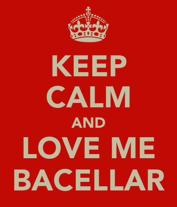 KEEP CALM AND LOVE ME BACELLAR