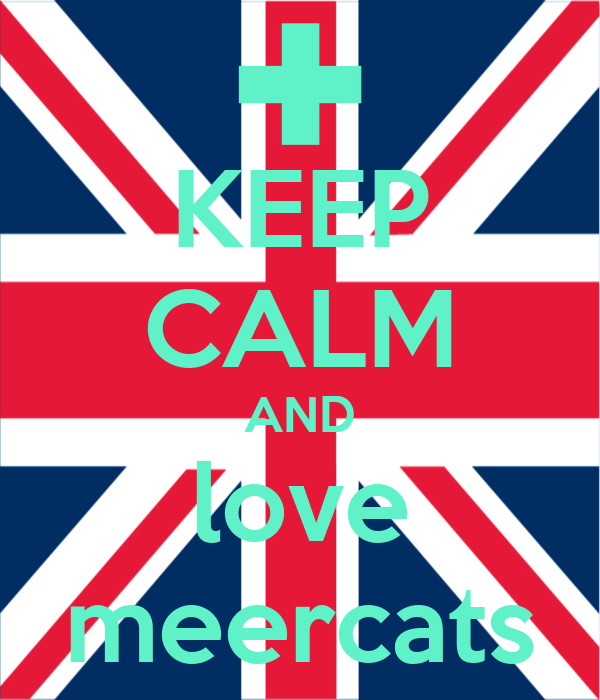 KEEP CALM AND love meercats