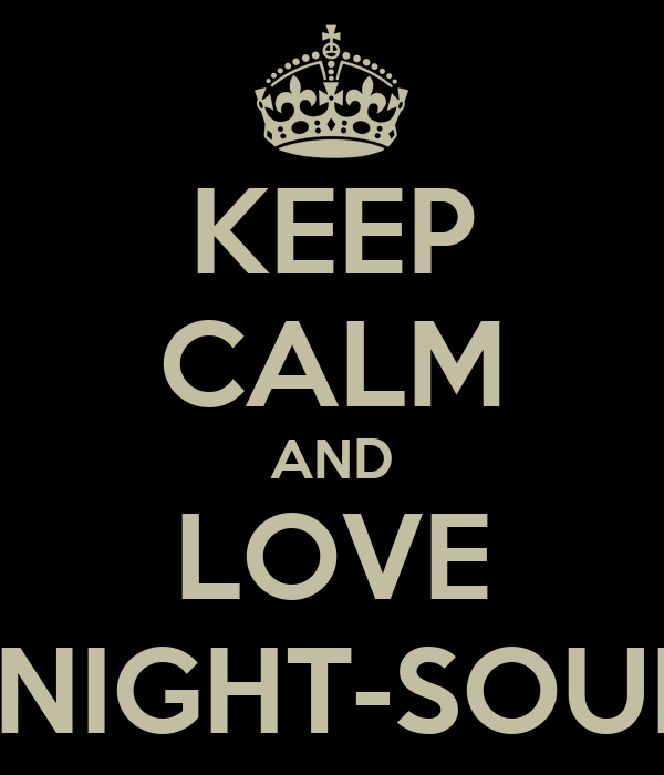 KEEP CALM AND LOVE MIDNIGHT-SOUNDS