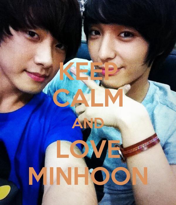 KEEP CALM AND LOVE MINHOON