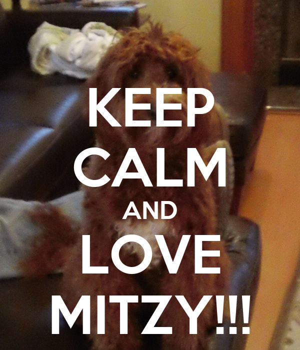 KEEP CALM AND LOVE MITZY!!!