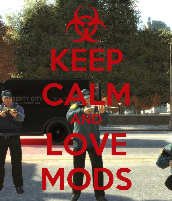 KEEP CALM AND LOVE MODS