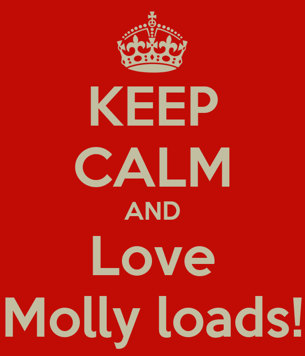 KEEP CALM AND Love Molly loads!