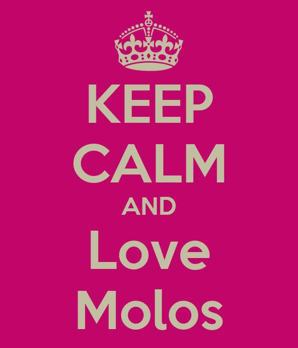KEEP CALM AND Love Molos