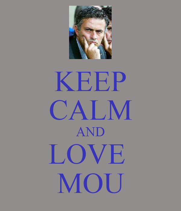 KEEP CALM AND LOVE  MOU