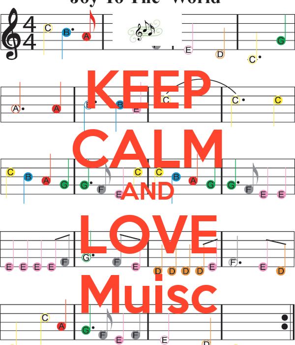 KEEP CALM AND LOVE Muisc