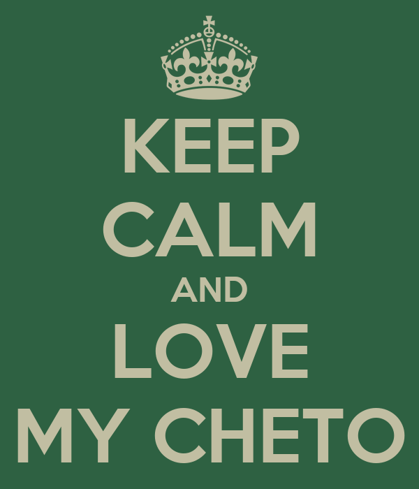 KEEP CALM AND LOVE MY CHETO