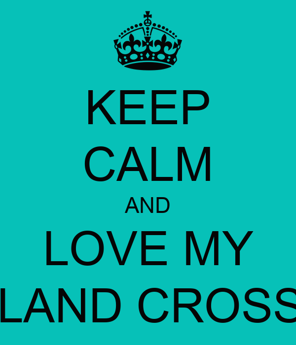 KEEP CALM AND LOVE MY NEWFOUNDLAND CROSS LABRADOR