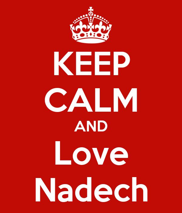 KEEP CALM AND Love Nadech