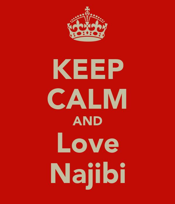 KEEP CALM AND Love Najibi