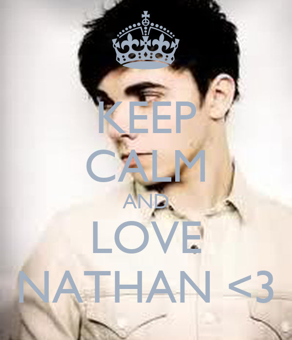 KEEP CALM AND LOVE NATHAN <3