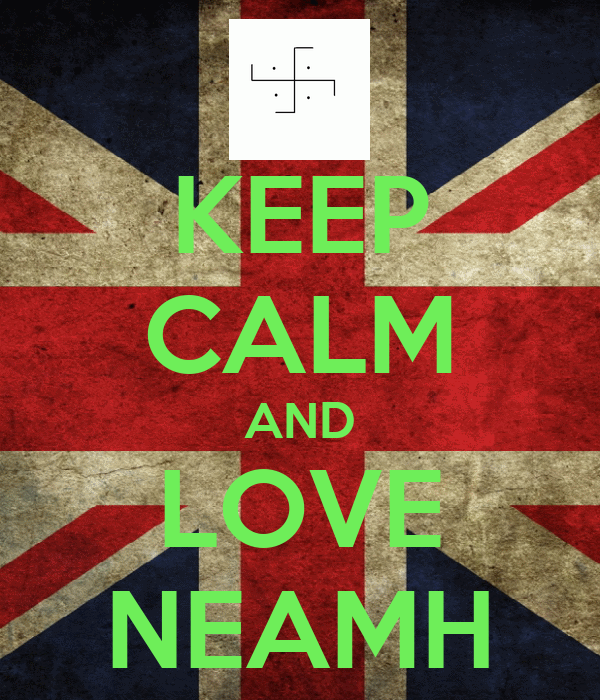 KEEP CALM AND LOVE NEAMH
