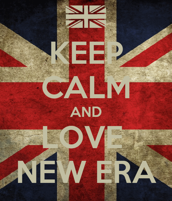 KEEP CALM AND LOVE  NEW ERA