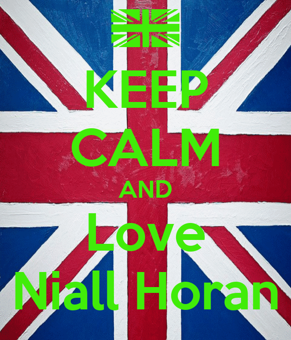 keep calm and love niall horan poster journey keep