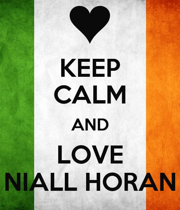 keep calm and love niall horan poster martha keep calm