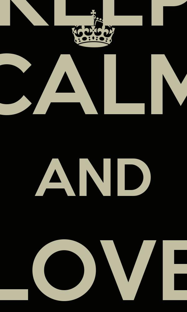 KEEP CALM AND LOVE NLD