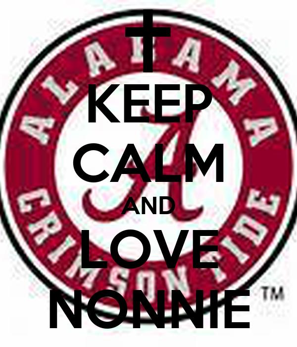 KEEP CALM AND LOVE NONNIE