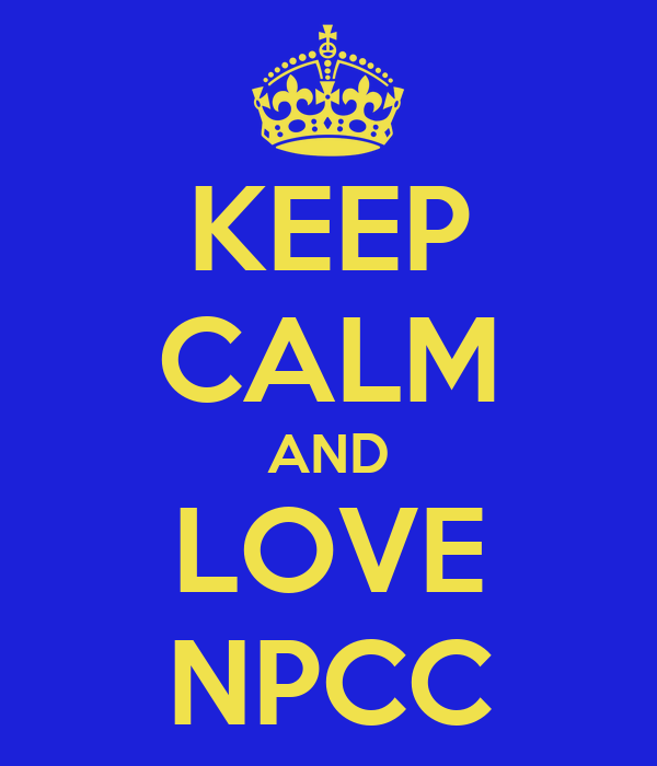KEEP CALM AND LOVE NPCC