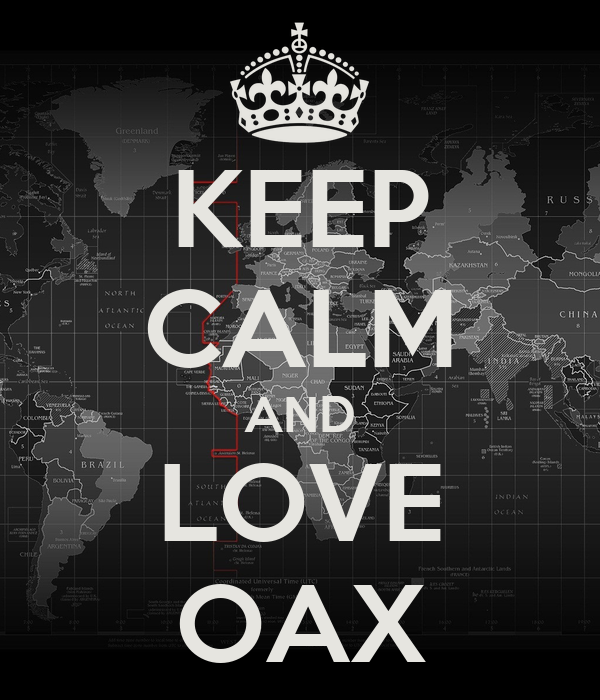 KEEP CALM AND LOVE OAX