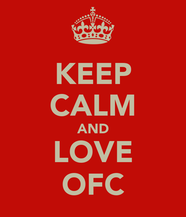 KEEP CALM AND LOVE OFC