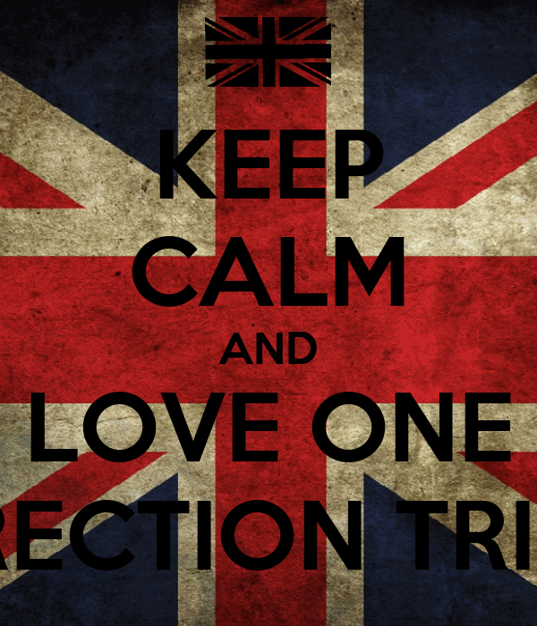 KEEP CALM AND LOVE ONE DIRECTION TRIXIE