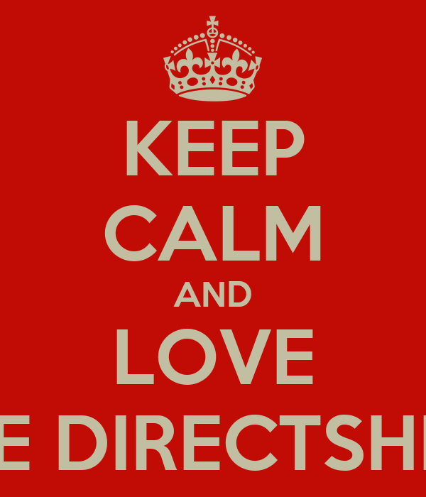 KEEP CALM AND LOVE ONE DIRECTSHION