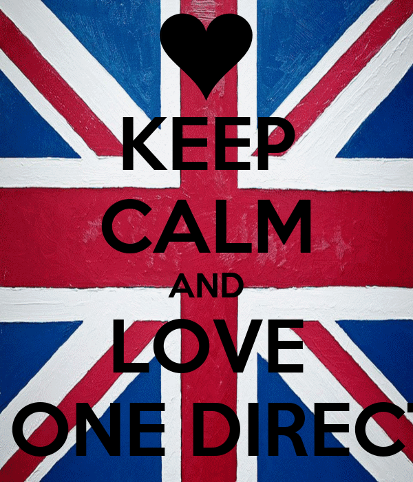 KEEP CALM AND LOVE ONE ONE DIRECTION