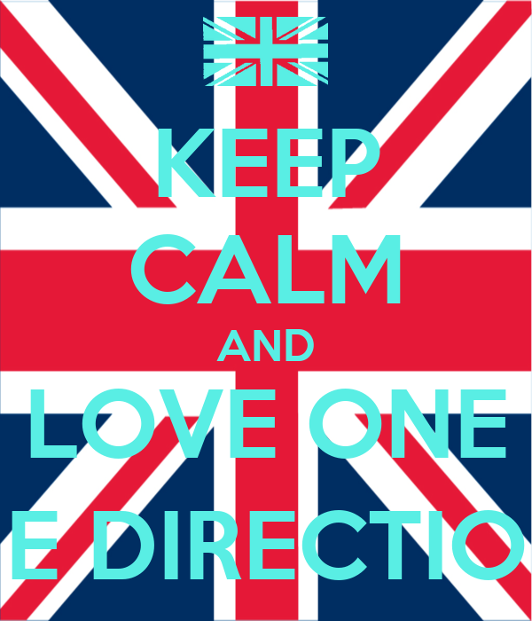 KEEP CALM AND LOVE ONE ONE DIRECTION (: