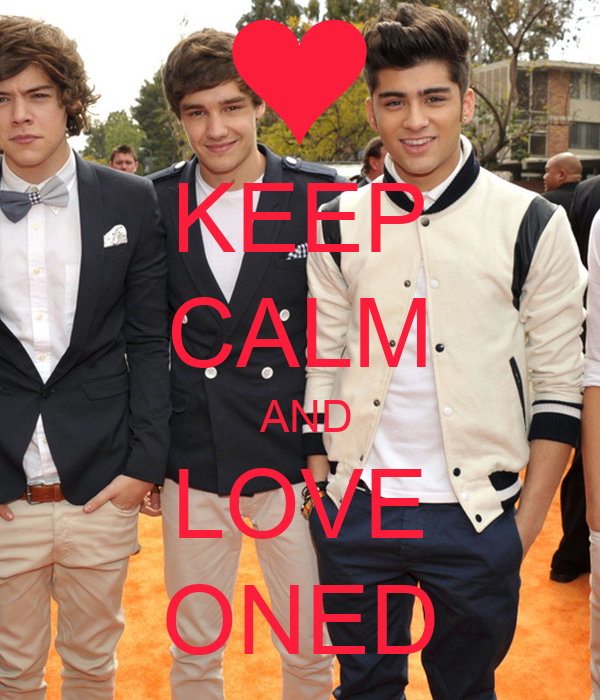 KEEP CALM  AND LOVE ONED