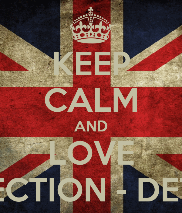 KEEP CALM AND LOVE ONEDIRECTION - DETECTION