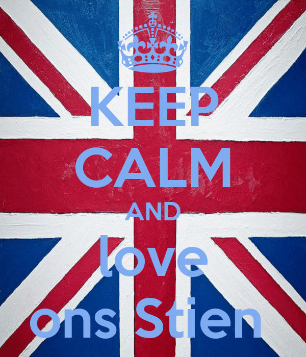 KEEP CALM AND love ons Stien
