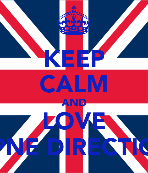 KEEP CALM AND LOVE OPNE DIRECTION